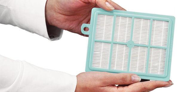 чистка фильтра пылесоса