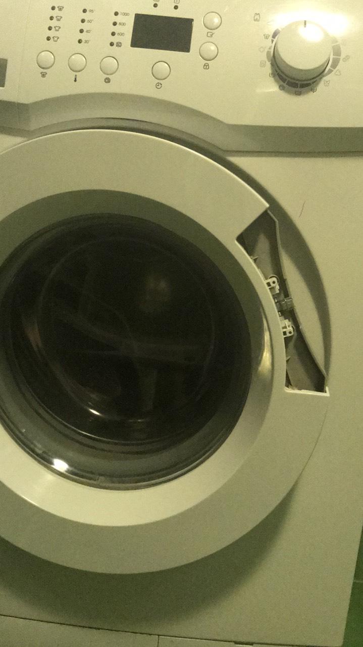 Сломана ручка в стиральной машинке