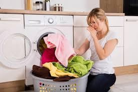 причины неприятного запаха в стиральной машинке